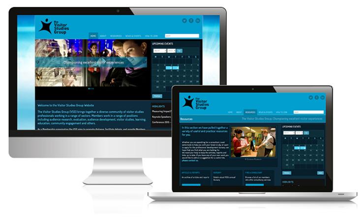 museum web design